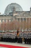 Reichstag的圆屋顶 免版税图库摄影
