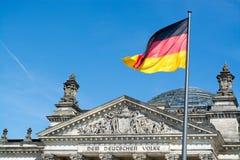 Reichstag,柏林,德国 库存照片
