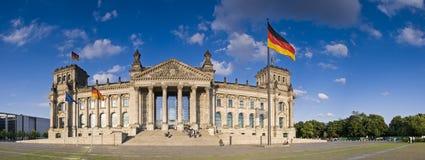 Reichstag,柏林 图库摄影