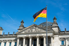 Reichstag, Βερολίνο, Γερμανία Στοκ Εικόνες