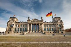 Reichstag στο Βερολίνο Στοκ φωτογραφίες με δικαίωμα ελεύθερης χρήσης