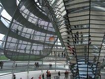 Reichstag Берлина, Германии Стоковое Изображение RF