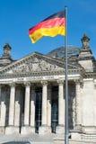 Reichstag, Берлин, Германия Стоковые Фотографии RF