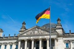 Reichstag, Берлин, Германия Стоковое Фото