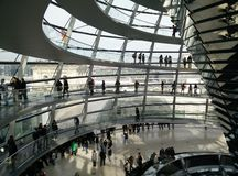 Reichstag Берлин Стоковое Изображение