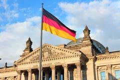 Reichstag, Германия Стоковые Изображения RF