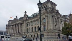 Reichstag Германский Бундестаг Берлин Стоковая Фотография RF