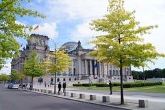 reichstag здания berlin Стоковые Изображения