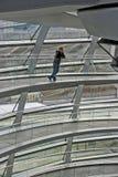 reichstag купола стоковые изображения rf
