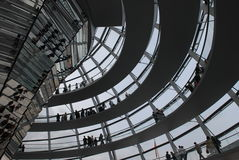 reichstag купола berlin Стоковые Фото