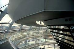 reichstag купола berlin стоковое изображение rf