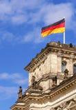 reichstag парламента детали немецкое Стоковая Фотография RF