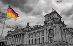 Reichstag. Royalty Free Stock Photo