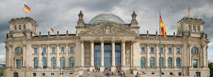 Reichstag. Stock Photography