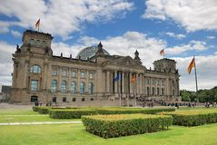 Reichstag. Royalty Free Stock Photography