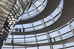 Reichstag. The German Parliament building in Berlin Royalty Free Stock Image