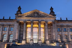 Reichstag Imagens de Stock Royalty Free