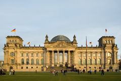 Reichstag. Building in Berlin, Germany Stock Images