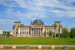 Reichstag Royalty Free Stock Image