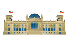 Reichstag Stock Photography