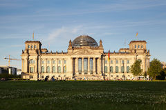 Reichstag 免版税库存图片