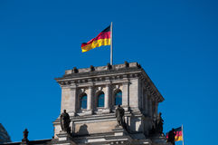 Reichstag Royalty Free Stock Photography