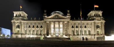 Reichstag royaltyfria bilder