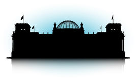 Reichstag ilustração royalty free