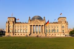 Reichstag Foto de Stock Royalty Free