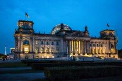 Reichstag Fotografie Stock Libere da Diritti