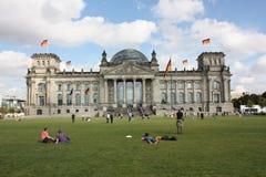 Reichstag Imagen de archivo libre de regalías