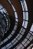 придайте куполообразную форму reichstag стоковое изображение