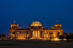 Reichstag Fotografie Stock