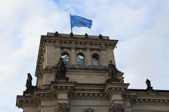 Reichstag Royaltyfria Foton