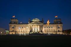 Reichstag Στοκ φωτογραφίες με δικαίωμα ελεύθερης χρήσης