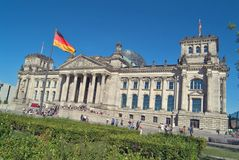 Reichstag. Building,Berlin,Germany Stock Images