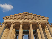 Reichstag Royalty Free Stock Photo