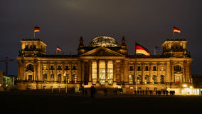 Reichstag, aantrekkelijkheid in Berlijn, Duitsland royalty-vrije stock afbeelding