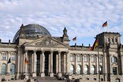 Reichstag alemán Imagen de archivo libre de regalías