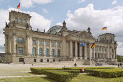 Reichstag allemand à Berlin Images stock