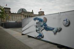 Reichstag, Arien Robben Στοκ Εικόνα
