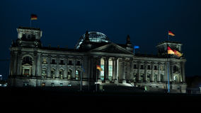 Reichstag, attraction in Berlin, Germany. Europe Stock Photography