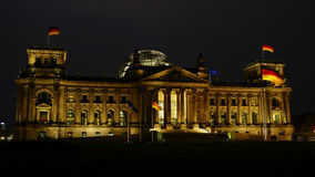 Reichstag, attraction in Berlin, Germany. Europe Royalty Free Stock Photo