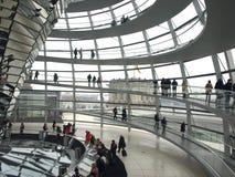 Reichstag av Berlin Arkivbild