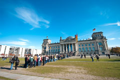 Reichstag Berlín Imagen de archivo