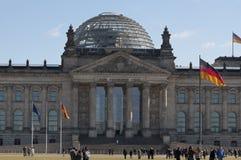 Reichstag Berlín Alemania Fotos de archivo libres de regalías