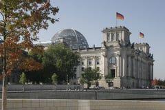 Reichstag, Berlijn Royalty-vrije Stock Afbeeldingen