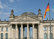 Reichstag - Berlijn Royalty-vrije Stock Fotografie