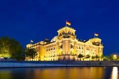 Reichstag, Berlijn Stock Fotografie