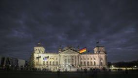 Reichstag Berlijn stock footage